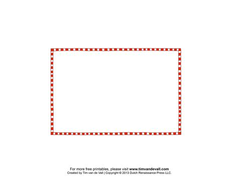 printable postcard border template postcard outline