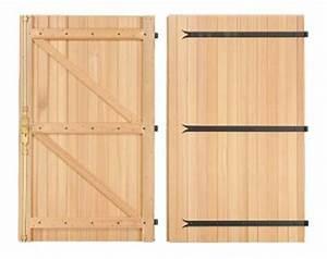 Porte De Garage Bois : les portes de garage en bois ~ Melissatoandfro.com Idées de Décoration