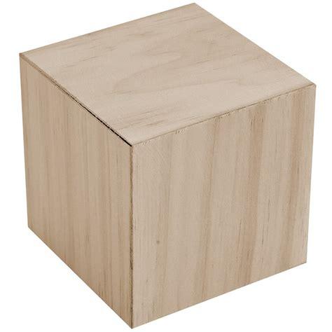 laras crafts square block wood