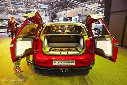 Clubman Mini Concept Geneva Boot Shows Autoevolution