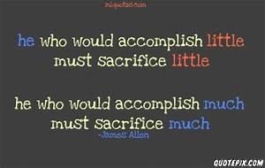 Famous Quotes O... Self Sacrifice Hero Quotes