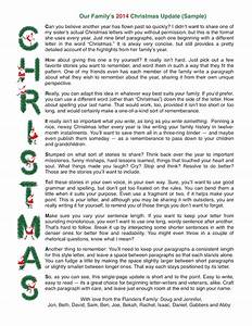christmas letters patterns samples and templates With short christmas letter