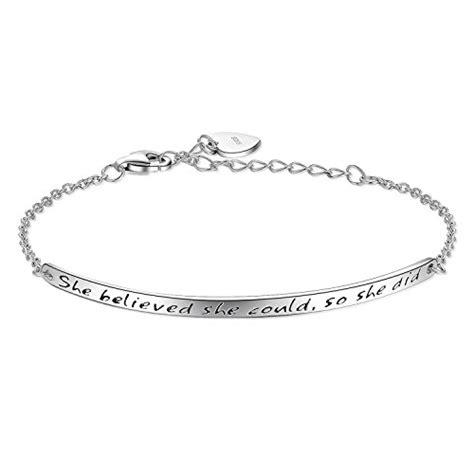 83642 friendship bracelets net billie bijoux 925 sterling silver engraved inspirational Inspirational