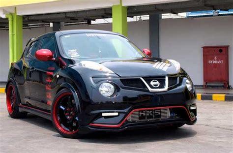 Gambar Mobil Gambar Mobilnissan Juke by Info Modifikasi Mobil Nissan Juke Hitam Terbaru Si Momo