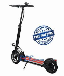 Free Shipping  500 Watt Electric Scooter 48 Volt Batteries