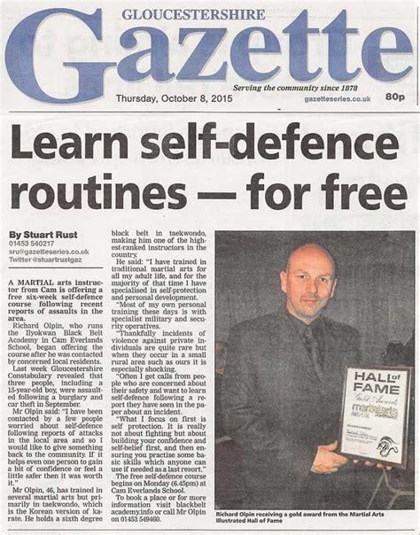 news article newspaper articles ilyokwan black belt academy