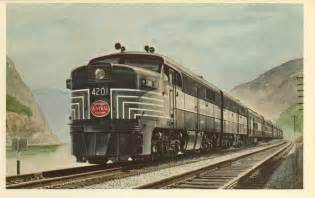 New York Central Railroad Passenger Trains