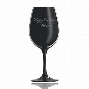 Verre A Vin Noir : verre vin personnalis noir schott zwiesel ~ Teatrodelosmanantiales.com Idées de Décoration