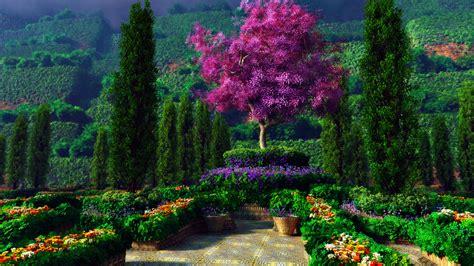 Garden Picture Hd by Fantastic Garden Nature Wallpaper Hd Wallpapers
