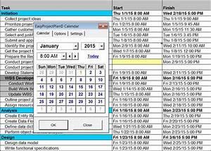 Multi Project Gantt Chart Template Easyprojectplan Screenshots Excel Gantt Chart Template