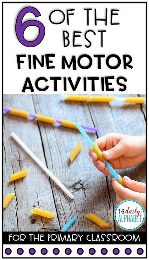 fine motor activities  daily alphabet