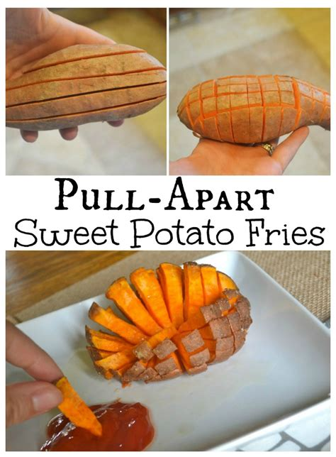how to make fries out of potatoes pull apart sweet potato fries super easy to make the fries turn out crispy and easy to quot pull