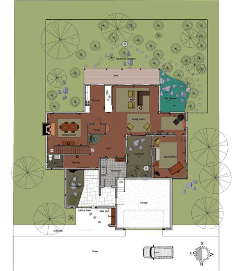 traditional house floor plans japanese house for the suburbs traditional japanese