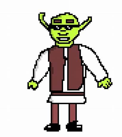 Shrek Pixel