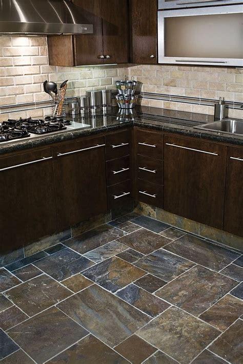 slate floor kitchen ideas  pinterest grey