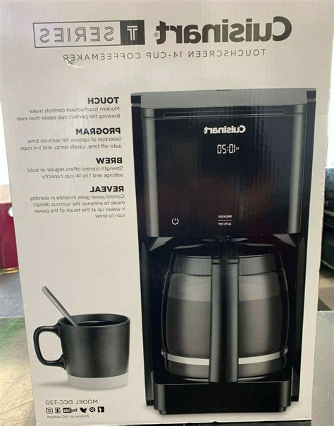 It's quick, convenient and mostly automatic after. Cuisinart Touchscreen 14-Cup Programmable Coffeemaker DCC-T20