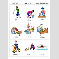 Actions 5 Flashcard
