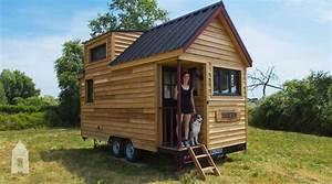 Fabriquer Mini Caravane : en images tiny house un logement conomique et cologique le parisien ~ Melissatoandfro.com Idées de Décoration