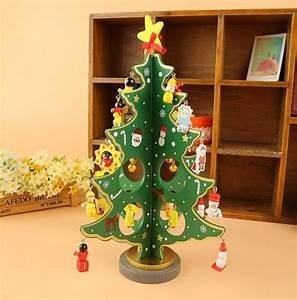 Fashion Handmade DIY Christmas Tree Wood Christmas crafts