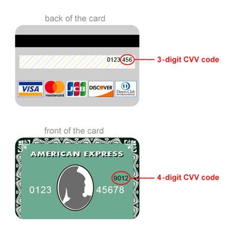 What is cvv cvc in metrobank credit card. CDJapan : Credit Card Security (CVV Code Verification)