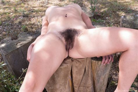 Sally Enjoys The Sun And Strips Naked Outdoors