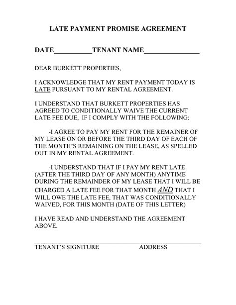 late rent payment notice letter google search landlord