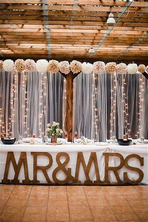 stunning  creative string lights wedding decor ideas