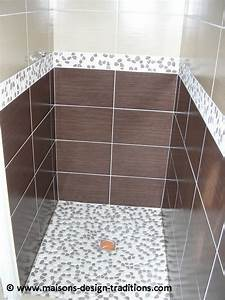 Faire Une Douche Italienne : blog construction de maison individuelle en morbihan ~ Dailycaller-alerts.com Idées de Décoration