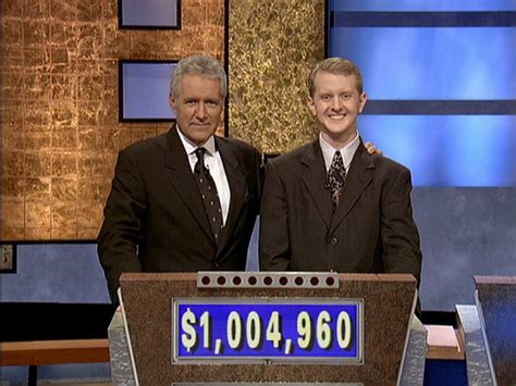 jeopardy behind scenes most trebek alex jennings revealing 2004 concentration classic facts row won games winnings total