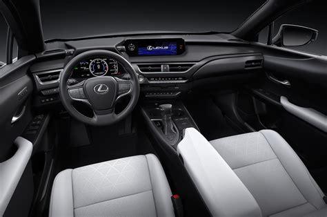 lexus ux  front interior  motor trend