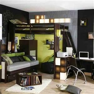 Deco Pour Chambre Ado : deco chambre ado garcon design visuel 4 ~ Teatrodelosmanantiales.com Idées de Décoration