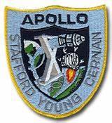 NASA Apollo 10 Embroidered 4 Mission Patch