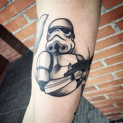 memorable star wars tattoo