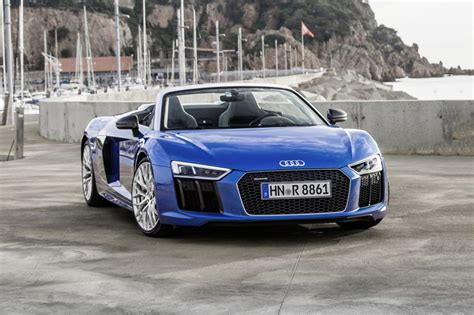 audi supercar convertible 2018 audi r8 convertible pricing for sale edmunds