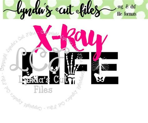 It literally means scalable vector graphics. X-Ray Life Svg/EPS/DXF file