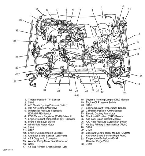 1997 Mustang V6 Engine Diagram by A 96 Ford Mustang With 3 8 Liter V6 Engine