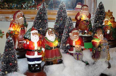 old world christmas santa lights