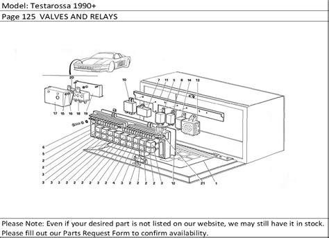 buy part 124717 tachometer relay testarossa bosch 0280230006 buy spares