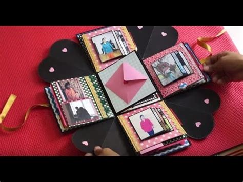 cute explosion box  sucrafts youtube