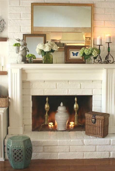 project design spring mantel  ways diy house beautiful home decor fireplace