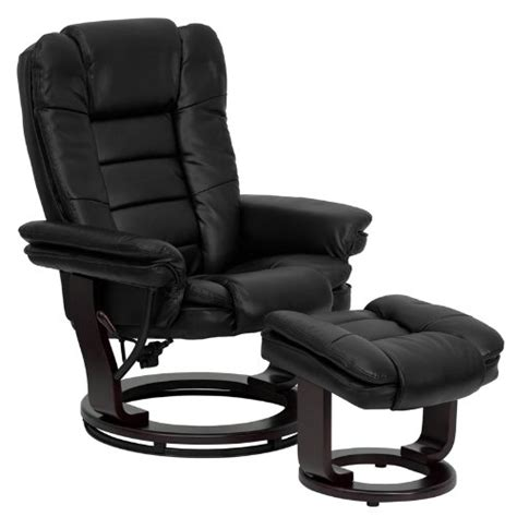 best leather recliner chair and ottoman heavy duty