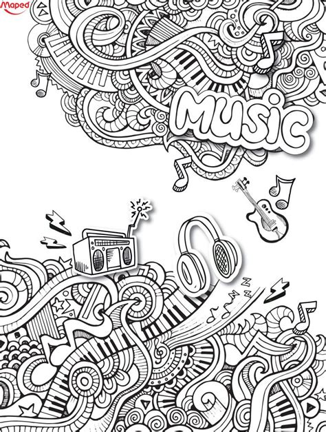 love   doodle  coloring pages  adults