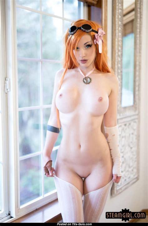kate lambert aka kato red hair babe with naked silicone regular boob porn photo [09 04 2018 04