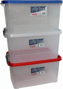 Luftdichte Box Keller : iris 3er set stapelbare aufbewahrungsboxen top box mit deckel und klickverschluss 30 liter ~ Markanthonyermac.com Haus und Dekorationen
