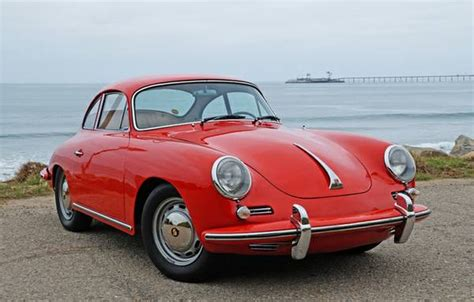 For Sale 1964 Porsche 356 Sc Red Coupe