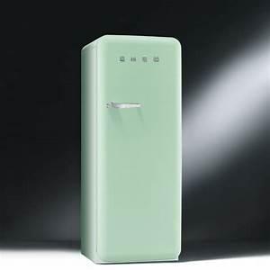Canapé Vert D Eau : les nouveaux r frig rateurs smeg color s et design le r frig rateur vert d 39 eau de smeg ~ Teatrodelosmanantiales.com Idées de Décoration