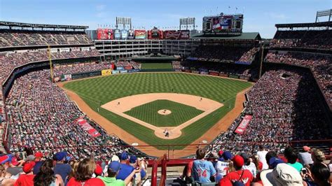 Texas Rangers Unveil Plans For New Retractable-roof Stadium