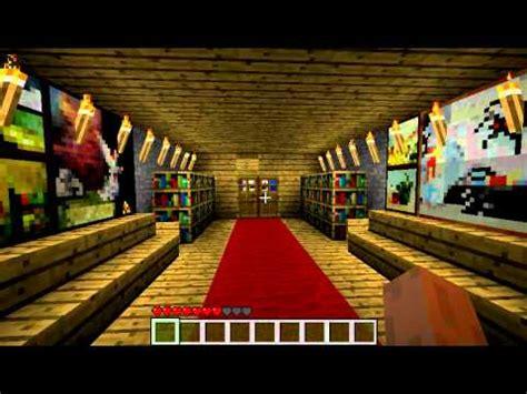 minecraft secret base  trap youtube