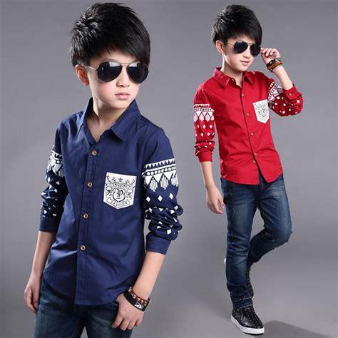 spring boys dress shirt hot selling soft fashion