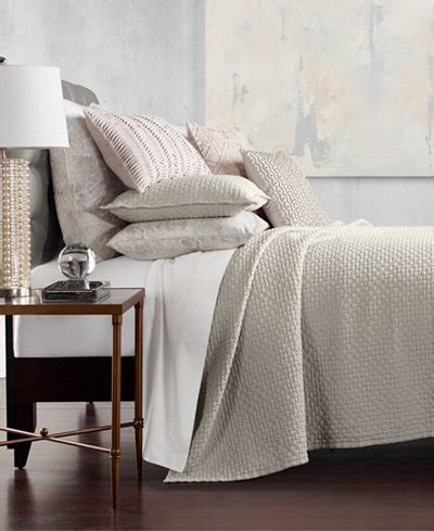 Hotel Collection Coverlet King by Hotel Collection Speckle Cotton Quilted King Coverlet